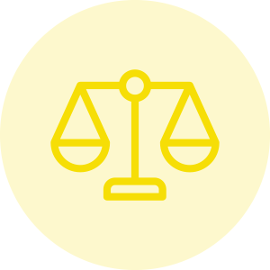 Icono de la balanza de la justicia - Ámbito buen gobierno - Apambu