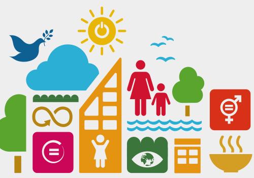 Iconos de sostenibilidad - Como integrar la Agenda 2030 y los Objetivos de Desarrollo Sostenible en la estrategia de la empresa - Apambu