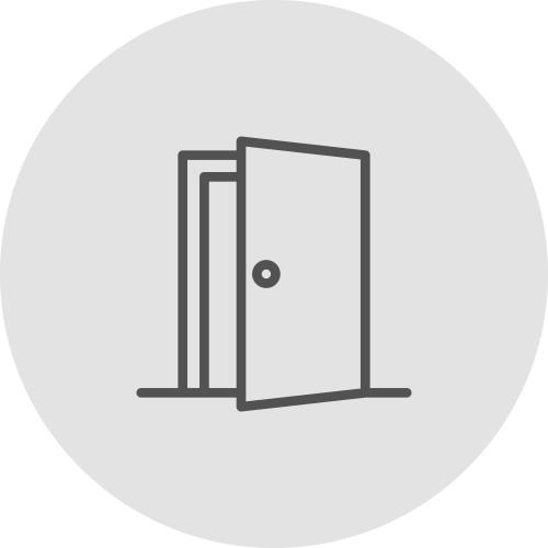 Icono de una puerta transparente - Ventajas de alinearse con los ODS - Apambu
