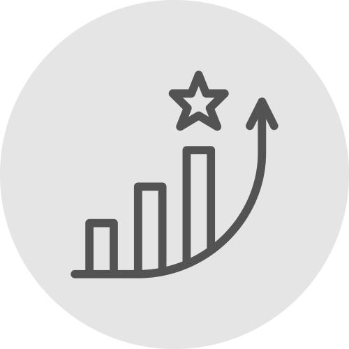 Increasing analysis icon - Improve your recognition - Apambu