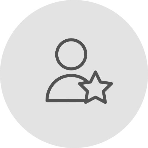 Icono de una persona y una estrella transparente - Ventajas de alinearse con los ODS - Apambu