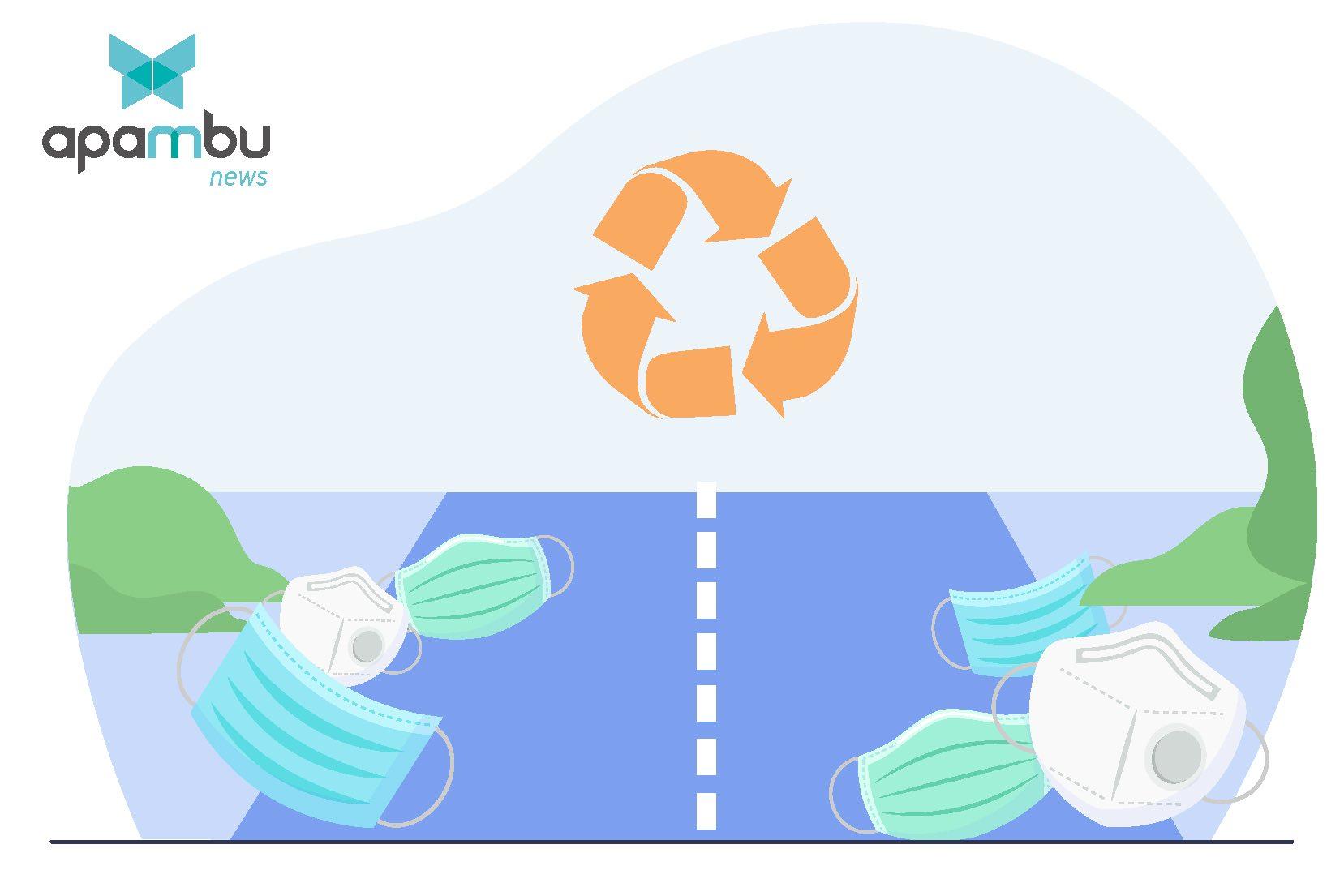 Tres millones de mascarillas recicladas para construir 1 km de carretera